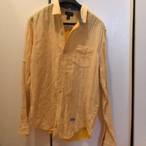 Men's cotton button down